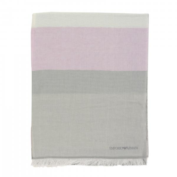 Emporio Armani scarf with multicolor bands