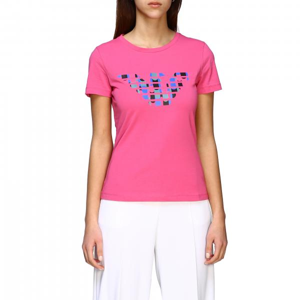 Emporio Armani short-sleeved T-shirt with logo print