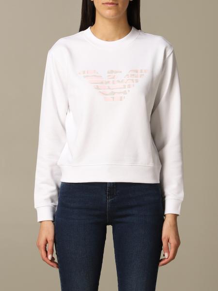 Emporio Armani crewneck sweatshirt with logo