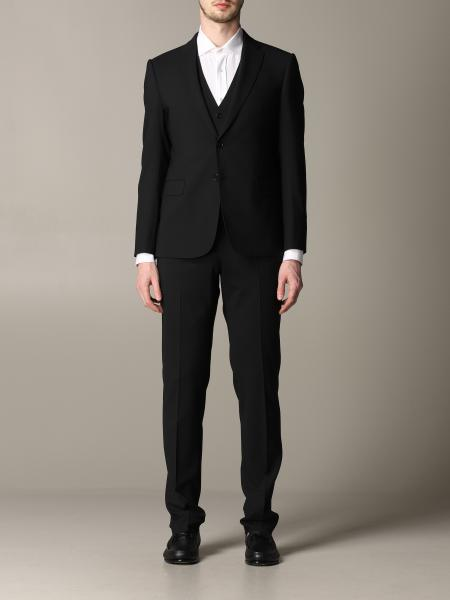 Emporio Armani single-breasted suit with vest