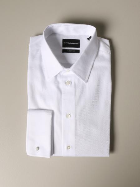 Camicia Emporio Armani con collo italiano