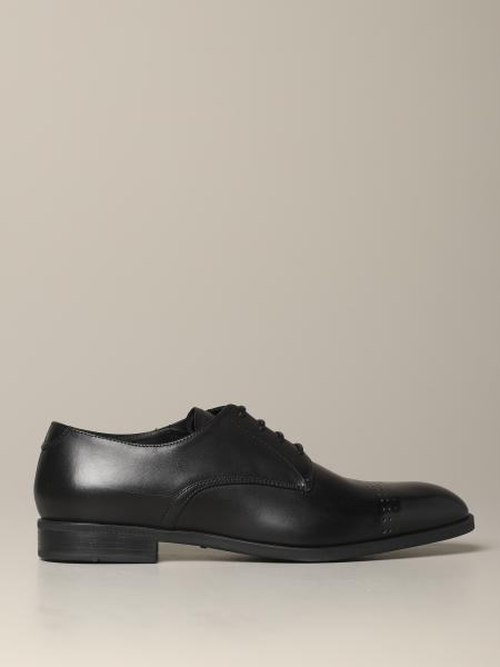 Emporio Armani classic derby in leather