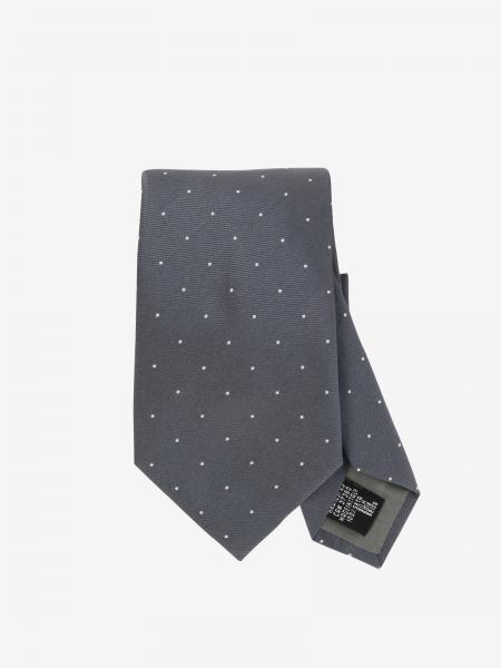 Cravatta Emporio Armani in seta a pois