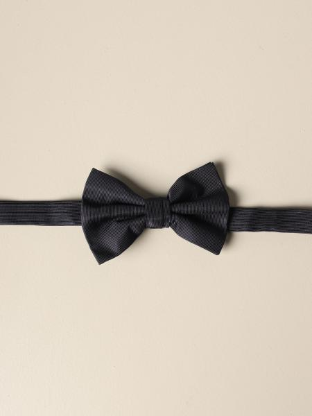 Emporio Armani bow tie in silk