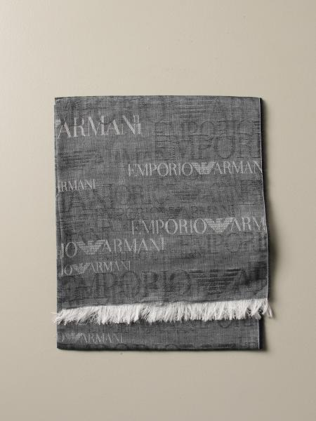 Écharpe Emporio Armani avec logo all over