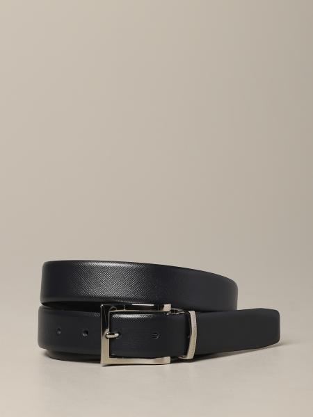 Emporio Armani belt in reversible leather