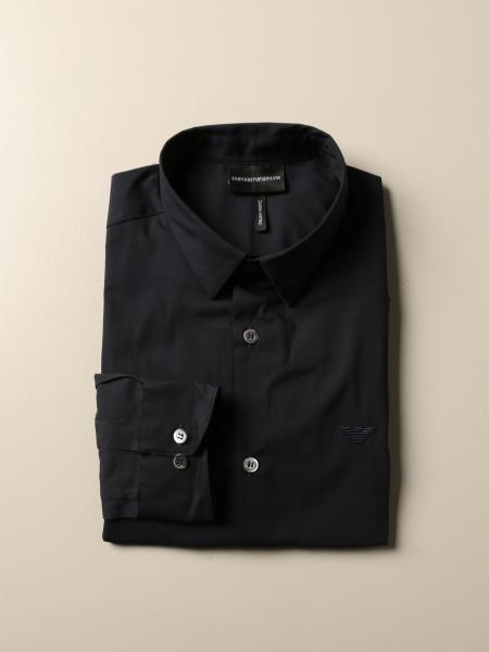 Emporio Armani 弹性府绸衬衫