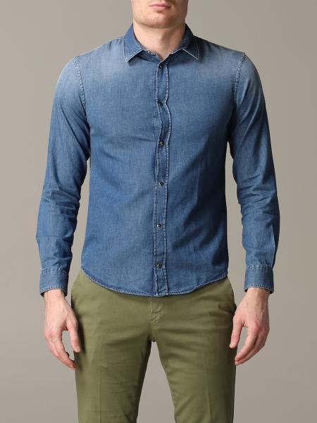 Camicia di jeans Emporio Armani