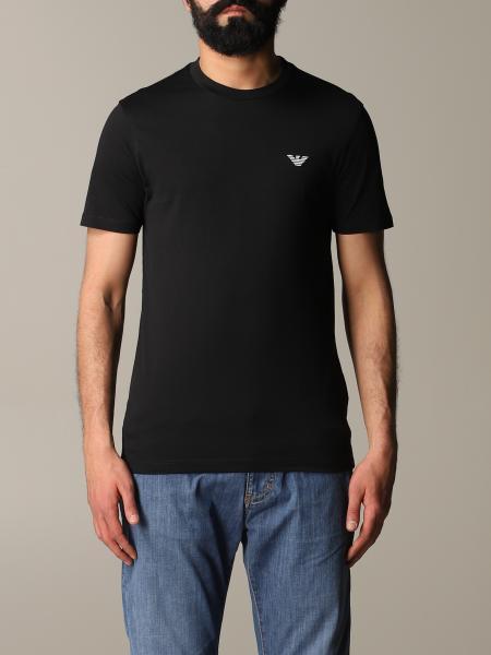Emporio Armani logo T恤