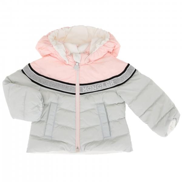 Marik Moncler down jacket with hood and lurex band