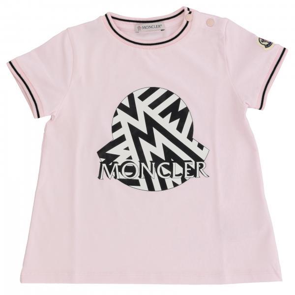 Moncler logo装饰短袖T恤