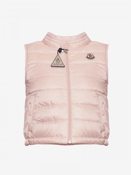 New amaury Moncler waistcoat down jacket with logo