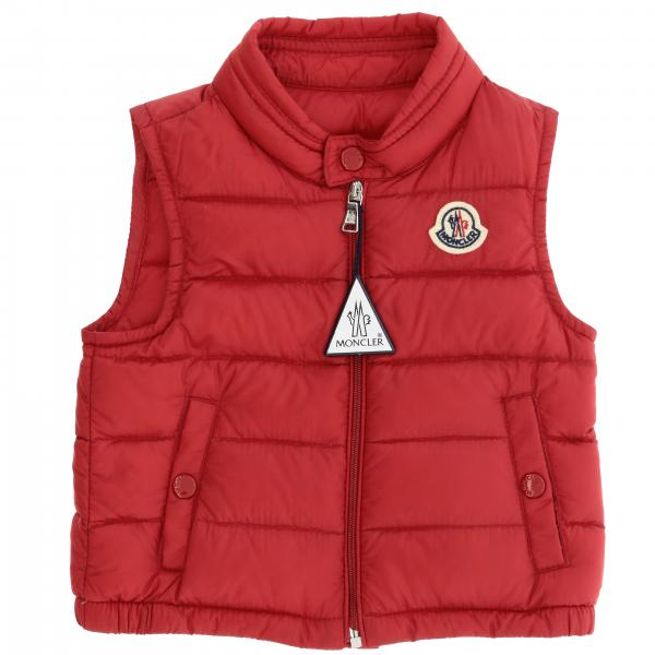 New amaury Moncler waistcoat down jacket with logo