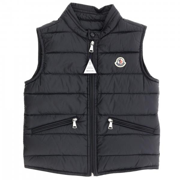 Gui Moncler vest down jacket with logo