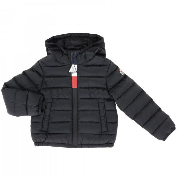 Moncler Rook duvet with hood and logo