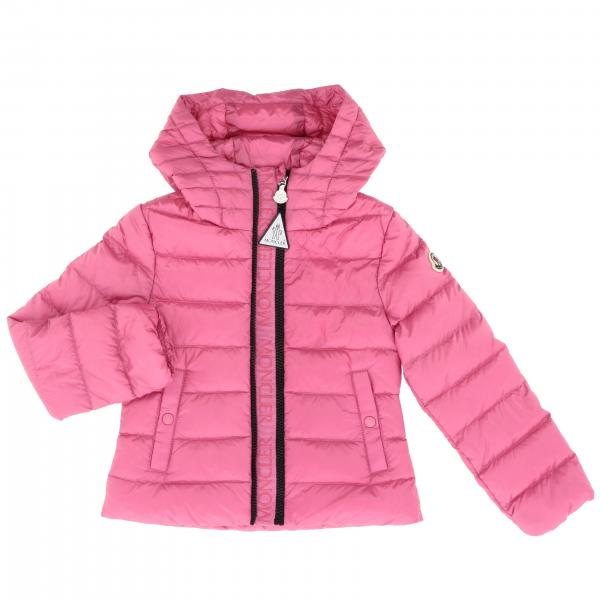 Moncler Glycine down jacket with hood and logo