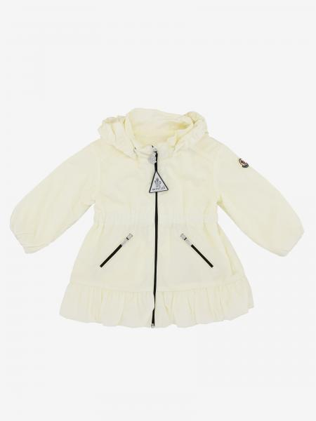 Moncler Geranium nylon jacket with hood