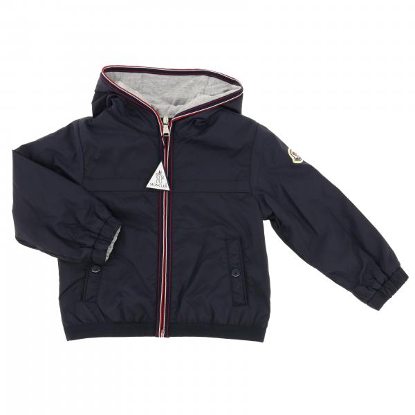 Anton Moncler nylon jacket with hood