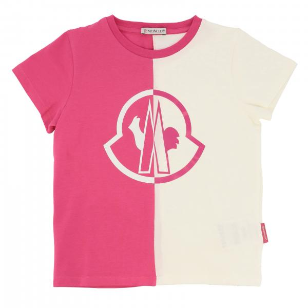 Moncler short-sleeved T-shirt with logo