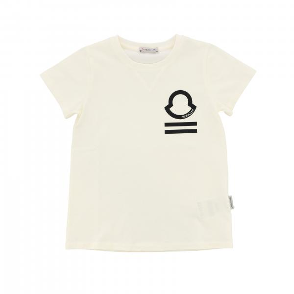 Moncler short-sleeved T-shirt with logo print