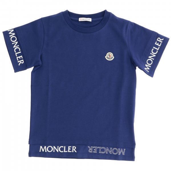 Футболка Moncler с короткими рукавами и логотипом