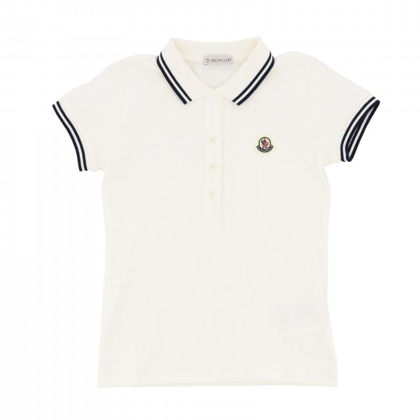 Moncler short-sleeved polo shirt with logo