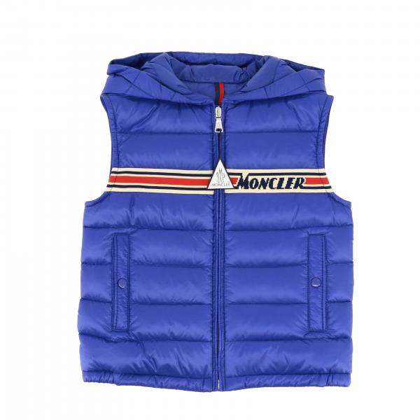 Piumino Bargy Moncler in nylon trapuntato con zip