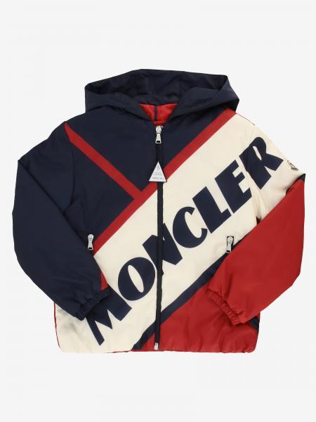 Moncler logo连帽尼龙外套