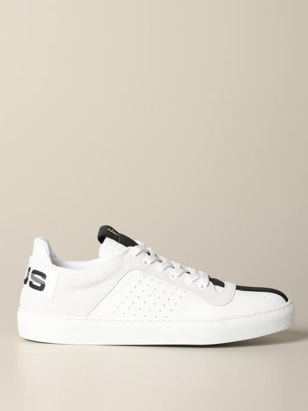 Sneakers Ramones Paciotti 4US in pelle e camoscio