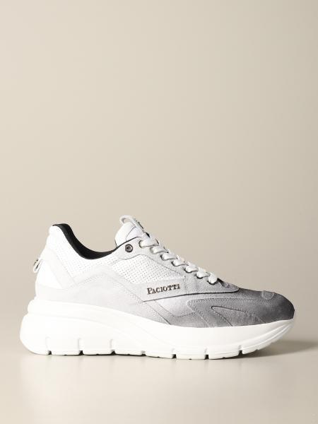 sneakers Zed Paciotti 4US in camoscio bicolor sfumato