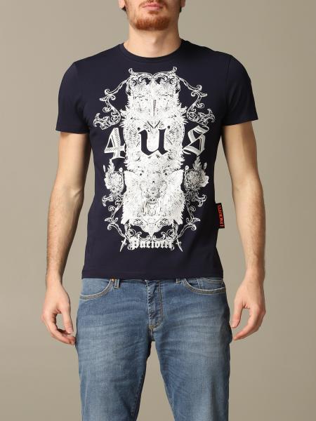 T-shirt Paciotti 4US con stampa logo