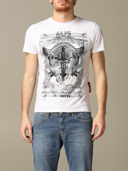 T-shirt Paciotti 4US con stampa tigre