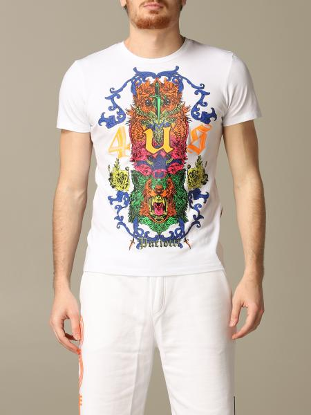 T-shirt Paciotti 4US con stampa multicolor