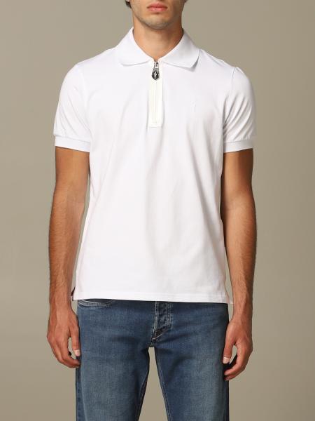 Polo Paciotti 4US in jersey di cotone con zip