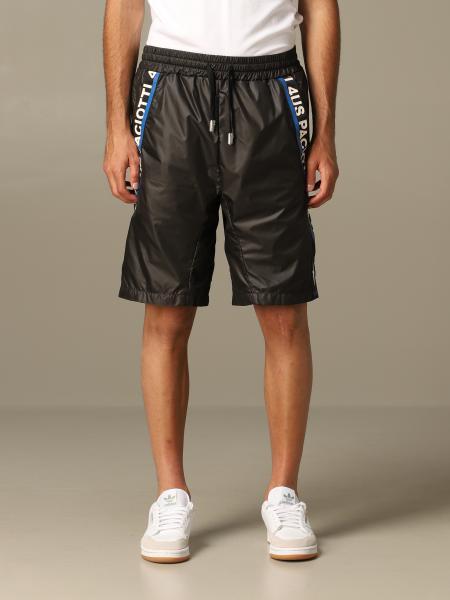 Pantaloncino di nylon Paciotti 4US con bande logate