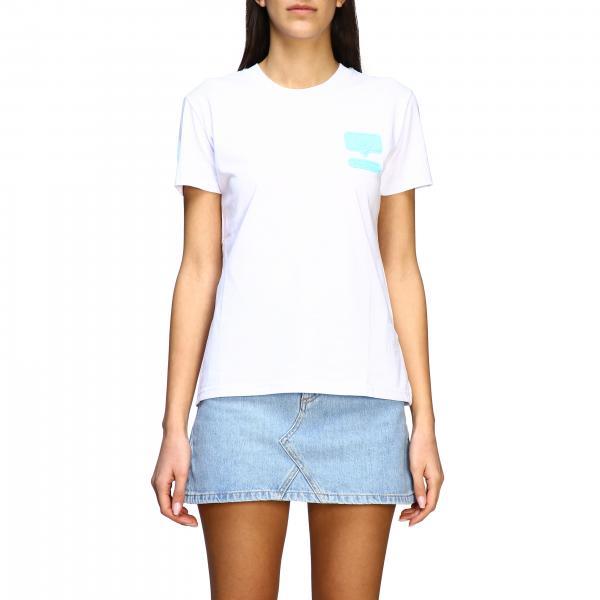 T-shirt Chiara Ferragni con logo i like