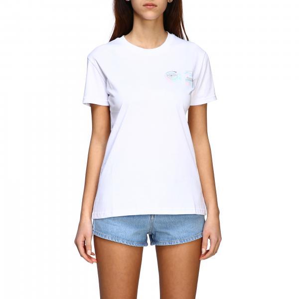 T-shirt Chiara Ferragni a maniche corte con stampa flirting