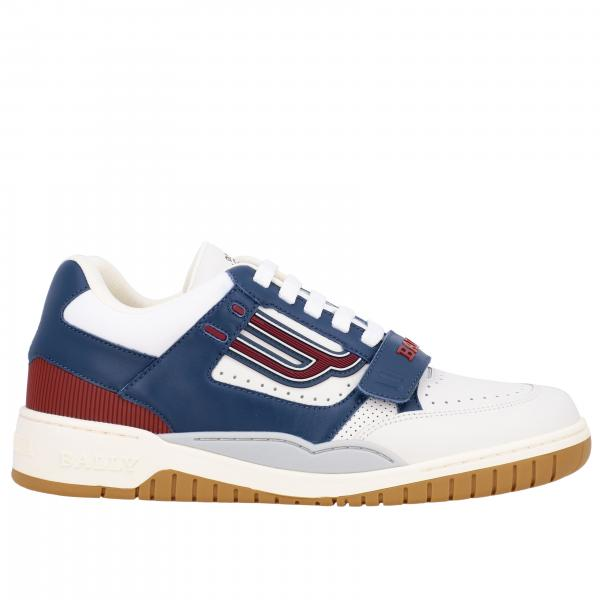 Koen-t Bally sneakers in bicolor leather with logo