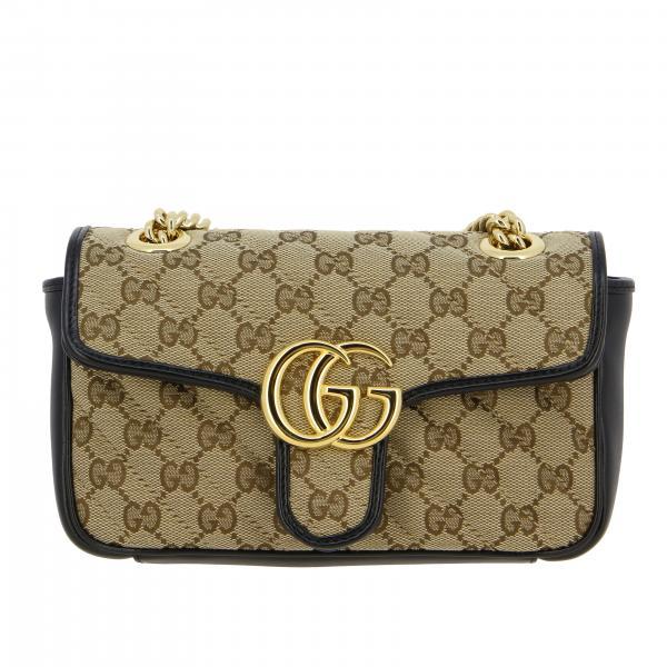 Borsa Gucci GG Marmont 2.0 mini in tela e pelle