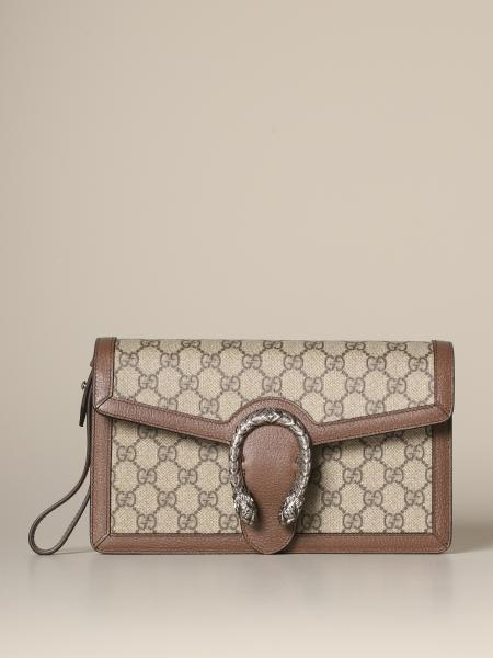 Gucci Dionysus clutch in GG Supreme leather
