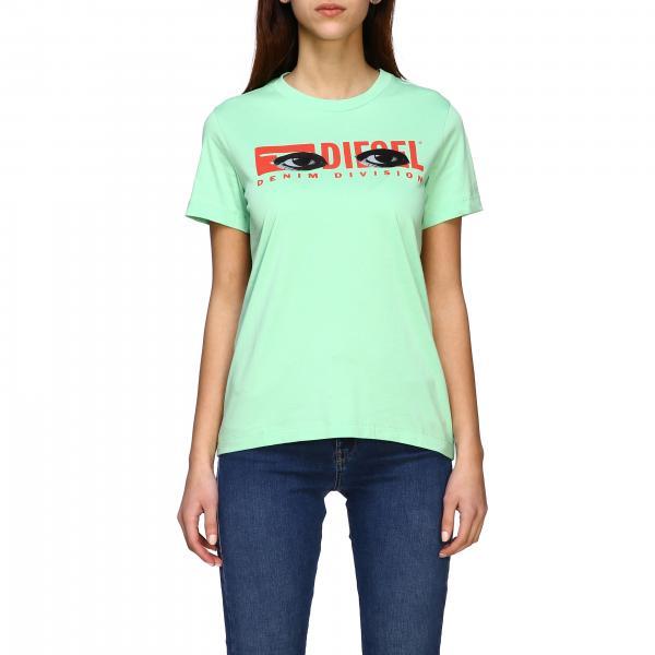 T-shirt Off White a maniche corte con stampa logo