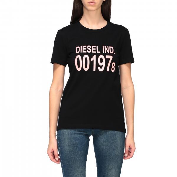 Diesel logo印花短袖T恤