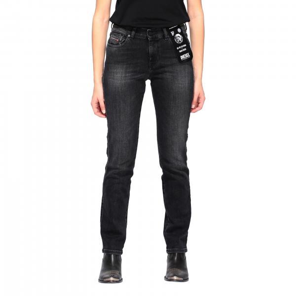 Jeans D-sandy Diesel slim a vita regolare