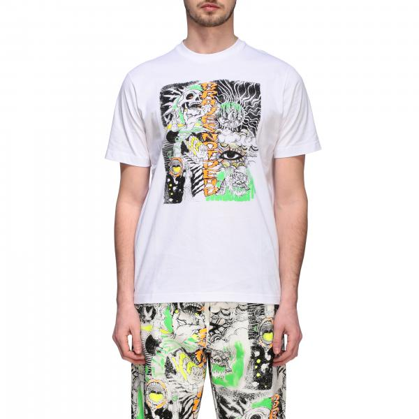 T-shirt Diesel a girocollo con stampa skate