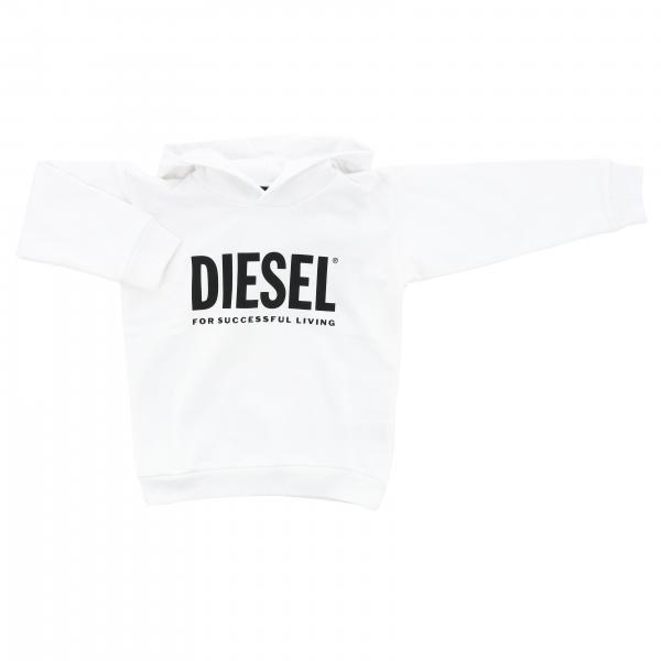 Diesel sweatshirt with hood and logo