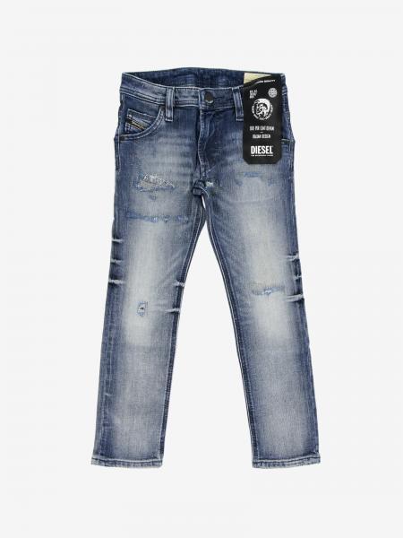 Jeans Krolley Diesel slim stretch con rotture