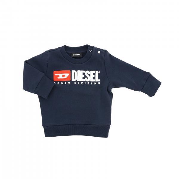 Diesel logo圆领卫衣