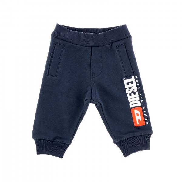 Diesel jogging trousers with big printed logo