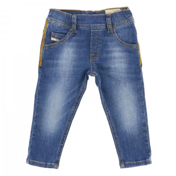Jeans Krolley Diesel in denim con logo