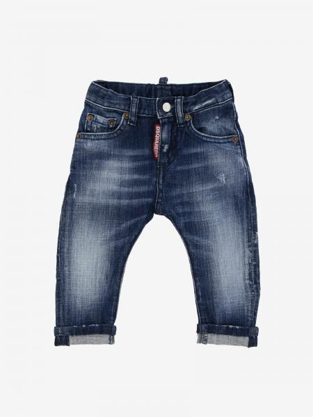 Jeans Dsquared2 Junior in denim used con logo